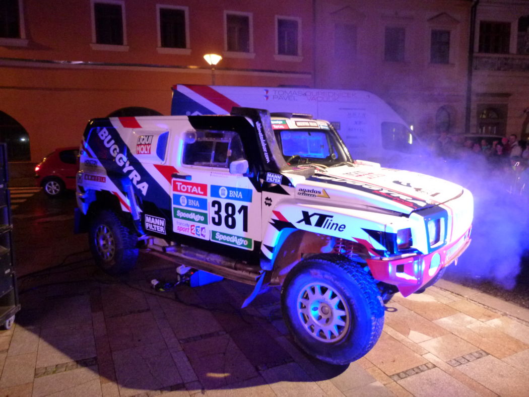 Road to DAKAR (video)