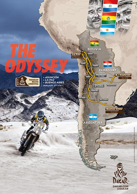 Dakar route presented in Prague