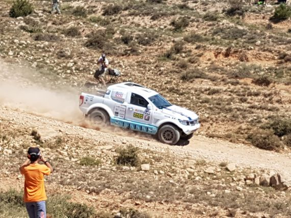 Successful finish in Baja Aragon