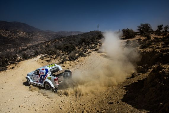 Promising start for Buggyra Ultimate Dakar in Morocco