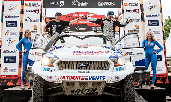 Ourednicek and Janacek in top 15 in toughest Baja Aragon