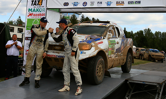 Top 10 finish for Ourednicek and Kripal in Hungarian Baja