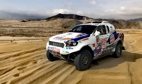 Ourednicek's Dakar hopes almost went up in smoke