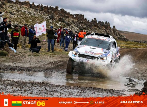 Gallery picture Dakar 2018 - stage 6
