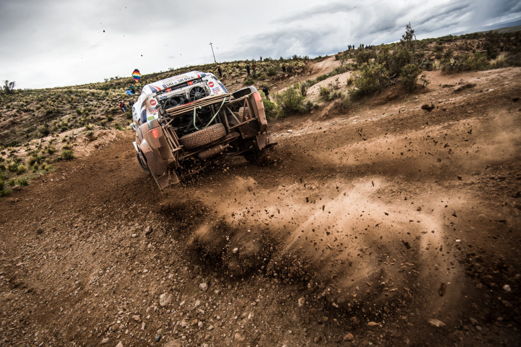 Mixed feelings for Ourednicek and Kripal after first part of Dakar Rally