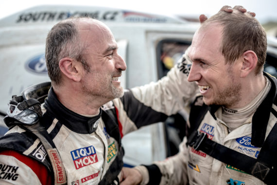 Ourednicek and Kripal finished toughest Dakar ever