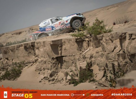 Gallery picture Dakar 2018 - stage 5