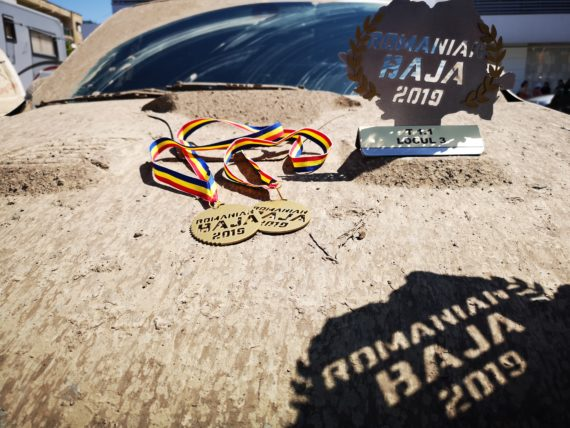 BAJA500 - Medal for difficult test in Romania