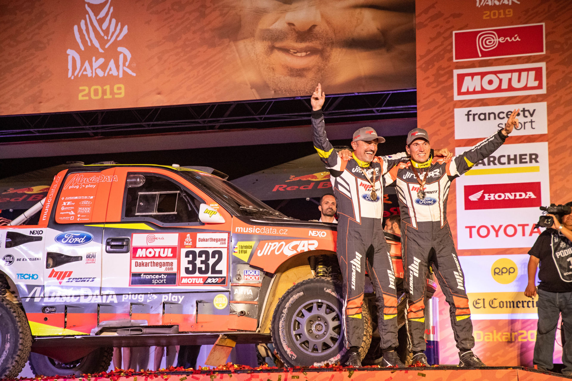 Ourednicek adds a fifth Dakar medal to his impressive collection