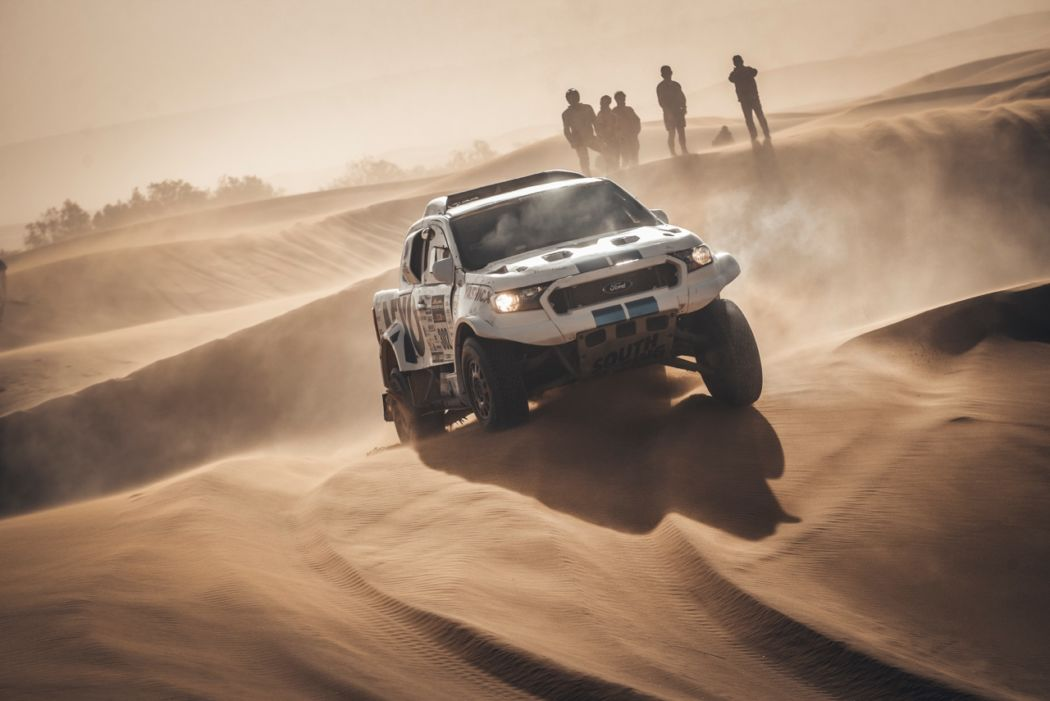 Dramatic moments in the dunes for Ourednicek and Kripal