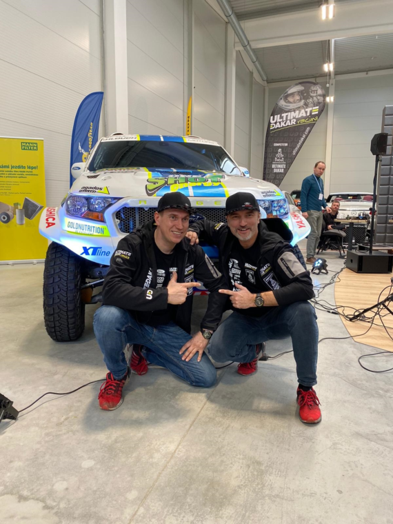 New Dakar Challenge for Ourednicek and Kripal