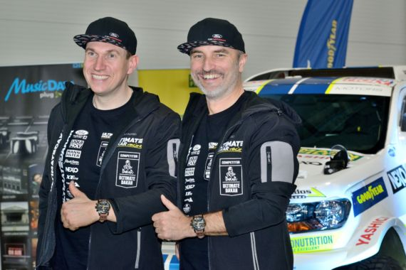Gallery picture New Dakar Challenge for Ourednicek and Kripal