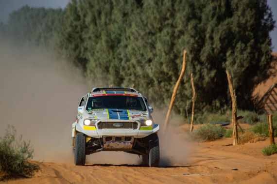 Gallery picture Ultimate Dakar's reborn Ranger flies to a good result in Stage 7