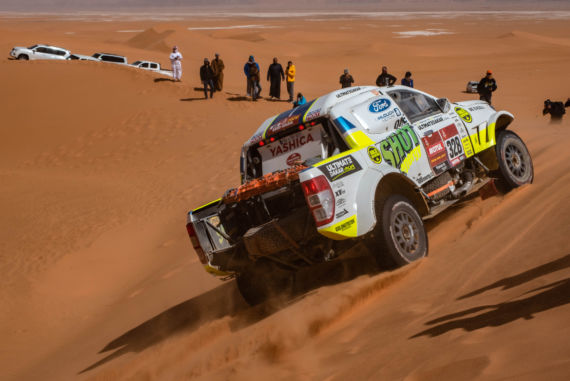 Gallery picture Ultimate Dakar's crew scores another small victory
