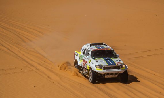 Ultimate Dakar's crew scores another small victory