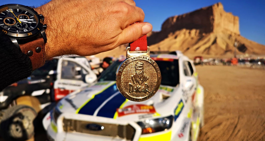 Ourednicek and Kripal bring Ford home after final stage drama
