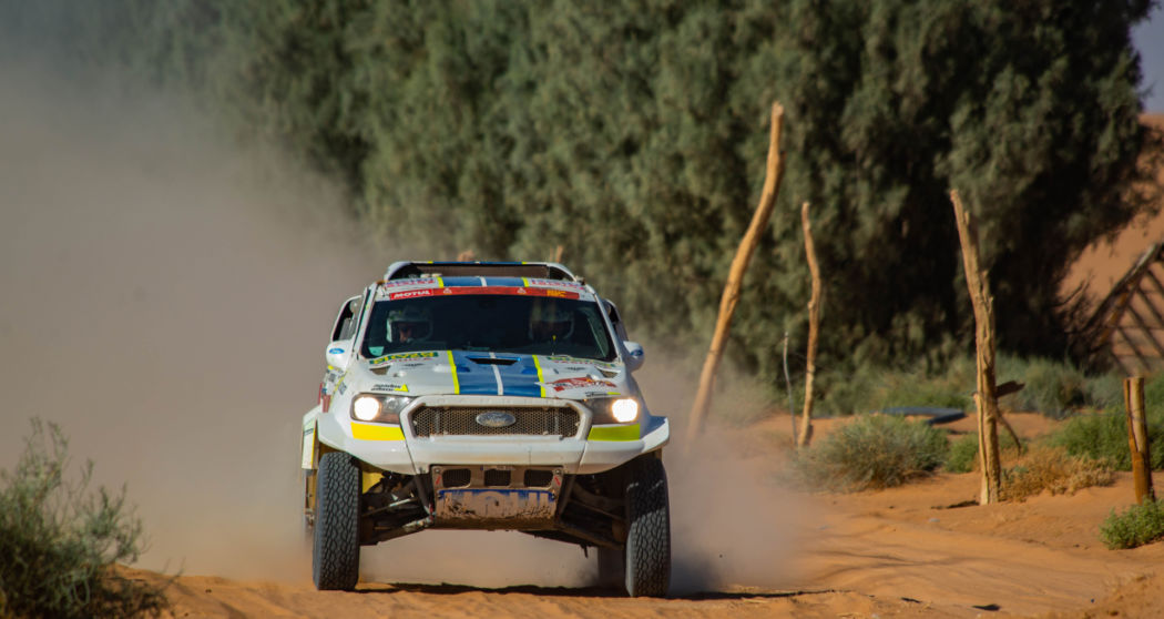 Ultimate Dakar's reborn Ranger flies to a good result in Stage 7
